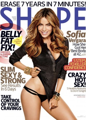 Sofia Vergara - Shape Magazine Cover (November 2014)