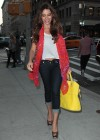 Sofia Vergara an a Unbuttoned jeans at her hotel in Soho - May 2012