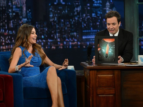 SOFIA VERGARA –  Late Night With Jimmy Fallon-12