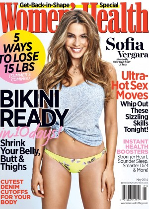Sofia Vergara: Womens Health 2014 -02