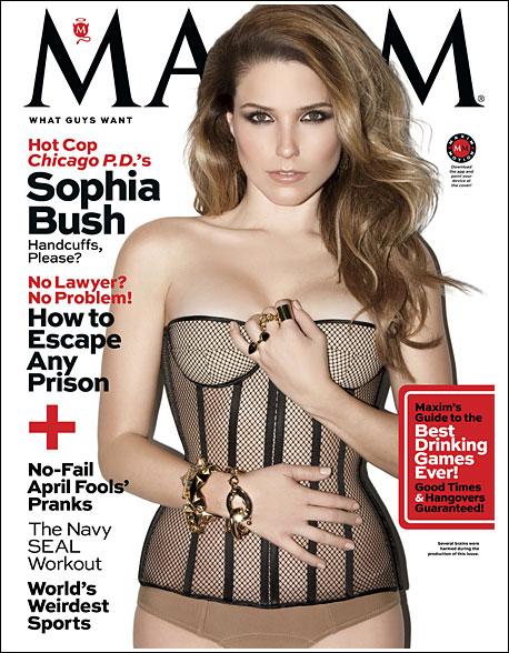 Sophia Bush: Maxim Magazine -01