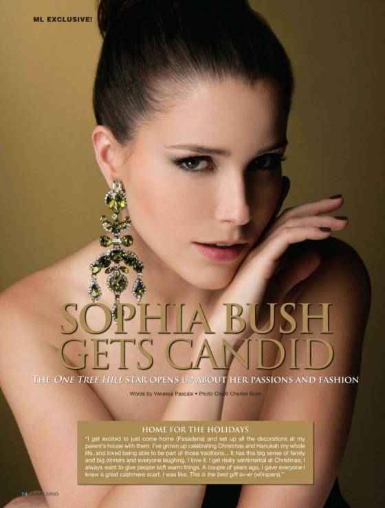 Sophia Bush – Miami Living Magazine