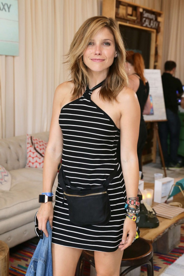 Sophia Bush - Samsung Galaxy Artist Lounge at Lollapalooza in Chicago
