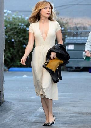 Sophia Bush in Dress out in LA