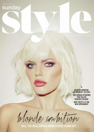 Sophie Monk - Sunday Style UK Magazine (August 2014)