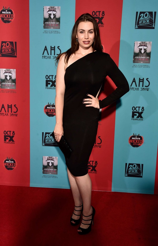 Sophie Simmons – American Horror Story Freak Show Premiere in Hollywood