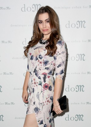 Sophie Simmons - 'Dominique Cohen For Miss Me' Holiday Capsule Collection Launch in NYC
