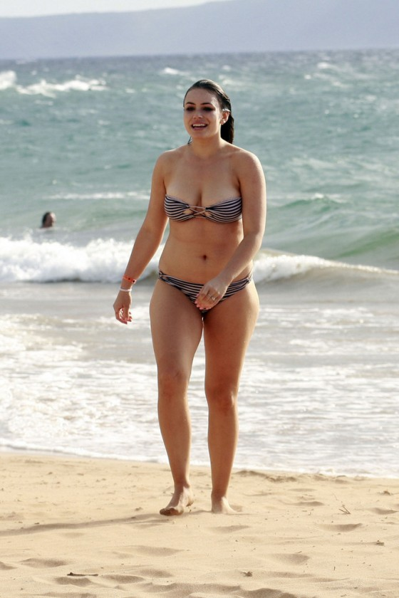 Sophie Simmons Bikini Photos: 2013 in Maui -06