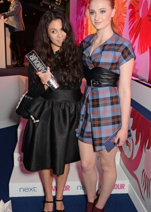 Sophie Turner: 2014 Glamour Women of the Year Awards -02