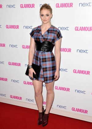 Sophie Turner: 2014 Glamour Women of the Year Awards -03