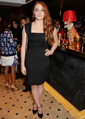 Sophie Turner - Charlotte Olympia Handbags for the Leading Lady Launch Dinner in London