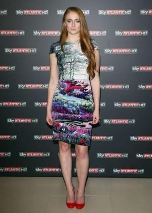 Sophie Turner: Game Of Thrones Premiere -06