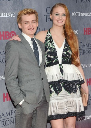 Sophie Turner: Game of Thrones NY Premiere -02