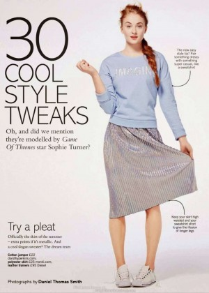 Sophie Turne: Glamour Magazine UK -01