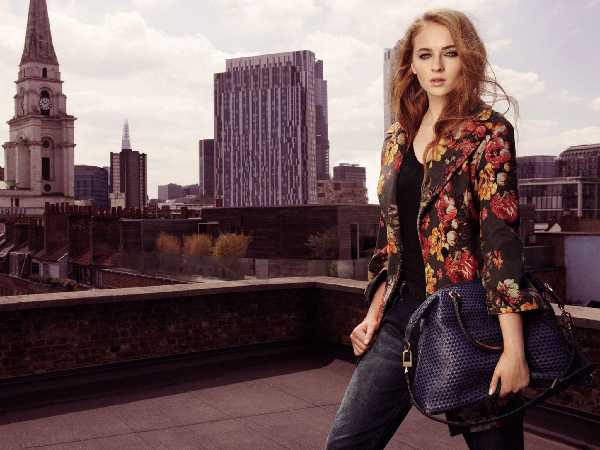 Sophie Turner - Karen Millen Campaign Fall 2014