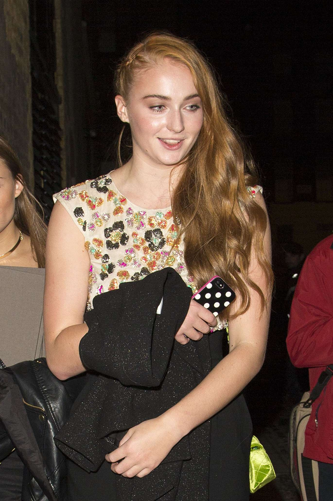 Sophie Turner - Leaving a Chanel Party in London