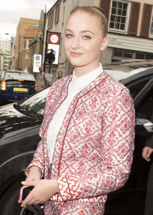 Sophie Turner - Topshop Unique Show SS 2015 London Fashion Week adds