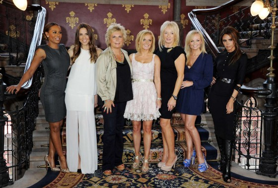 Spice Girls -Again- Press Launch, London-26