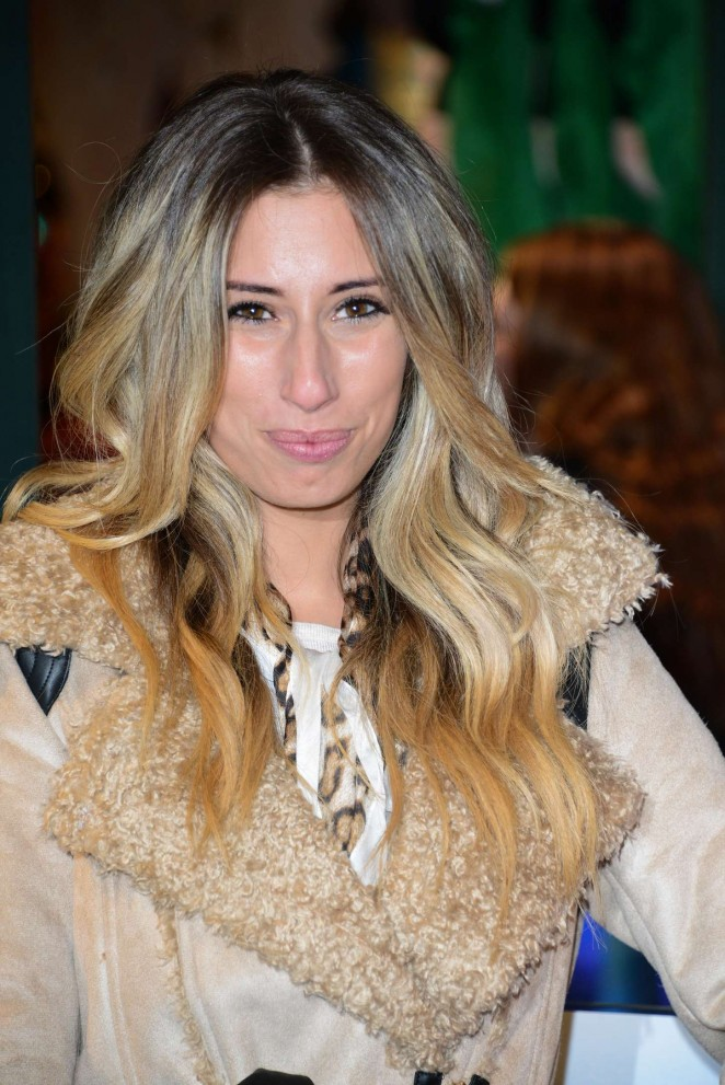 Stacey Solomon - Share The Magic Christmas Charity Launch in London