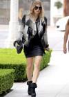 Fergie showing her legs out shopping with friends in LA
