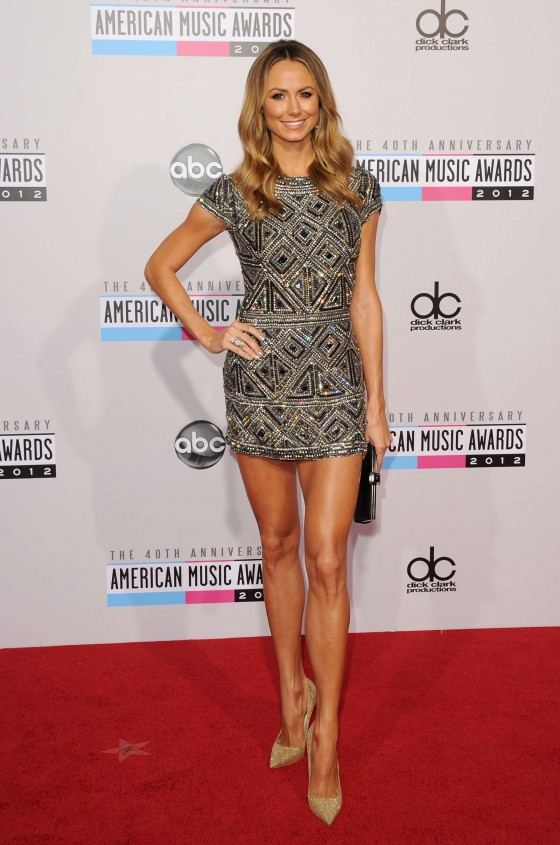 Stacy Keibler - 40th annual AMA Nokia Theater LA