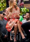 Stacy Keibler at Extra at the Grove -01