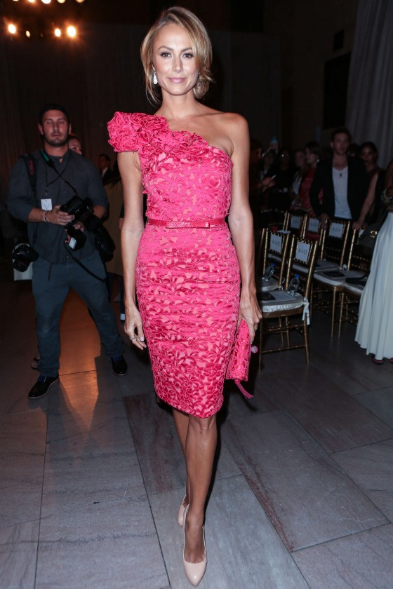 Stacy Keibler Marchesa Fashion Show