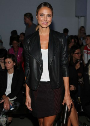 Stacy Keibler - Helmut Lang Fashion Show in NY