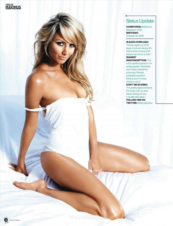 Stacy Keibler � Maxim magazine Australia (April 2012)