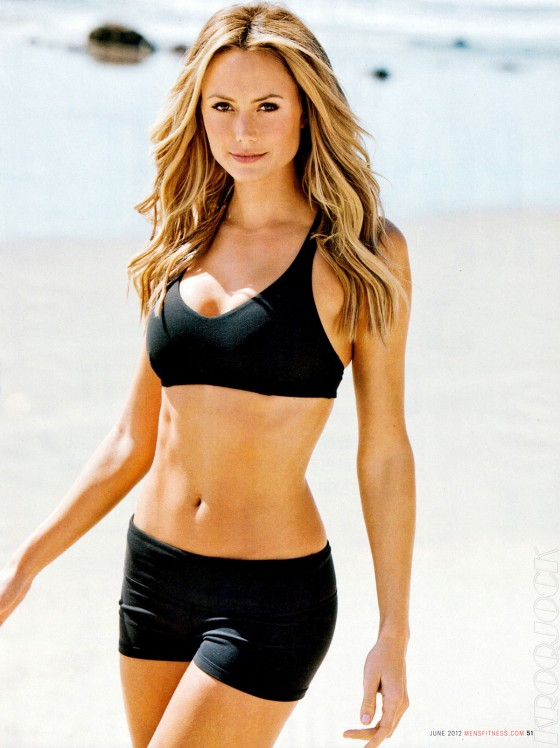 Stacy Keibler Hot in Mens Fitness Magazine (June 2012)