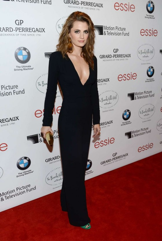 Stana Katic – 2012 Intimate Cocktail And Dinner at Beverly Hills Hotel-04