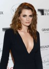 Stana Katic - In a long black dress at Intimate Cocktail And Dinner at Beverly Hills Hotel