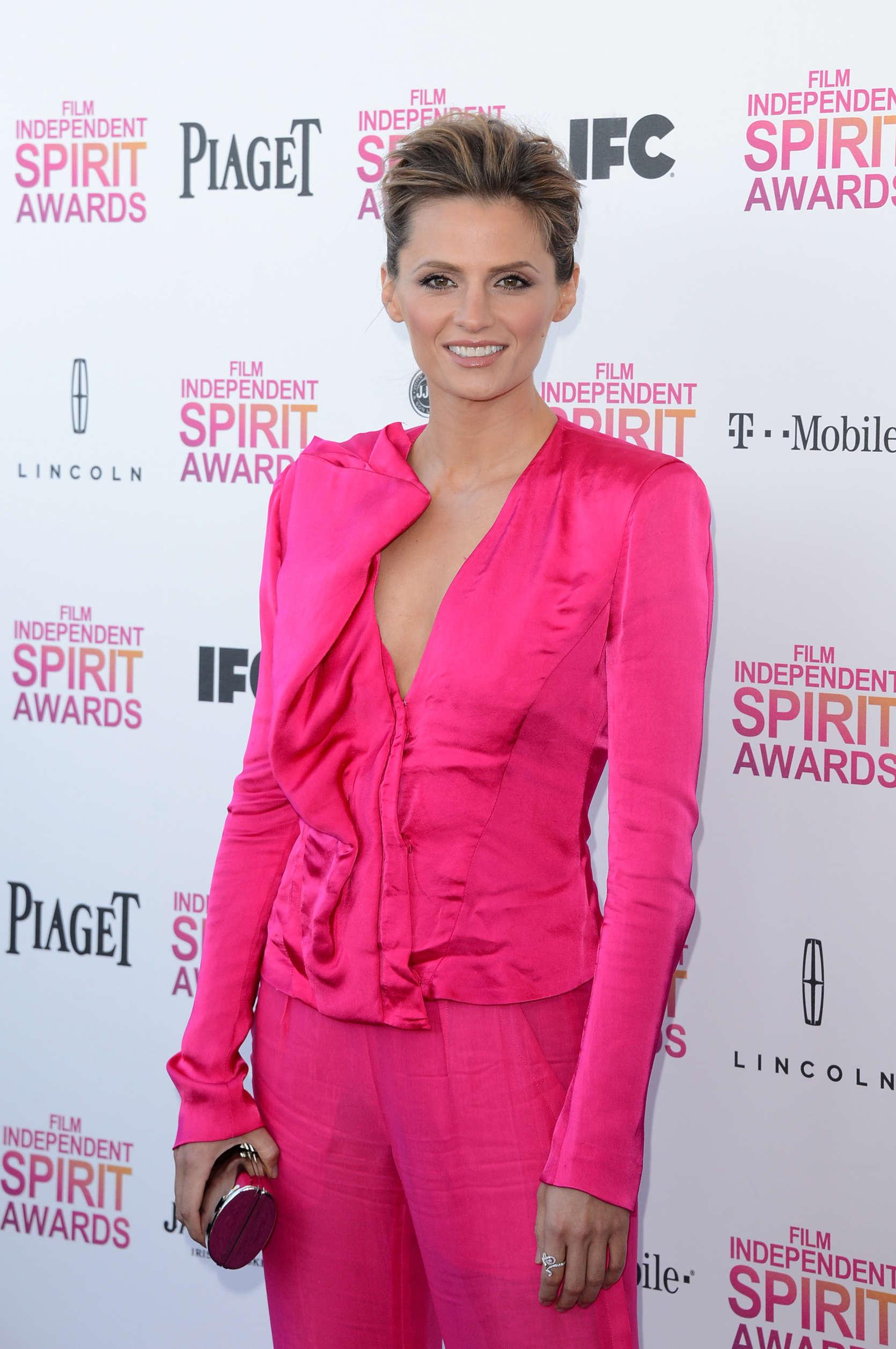 Stana Katic 2013 Film Independent Spirit Awards In Santa Monica 02 ...