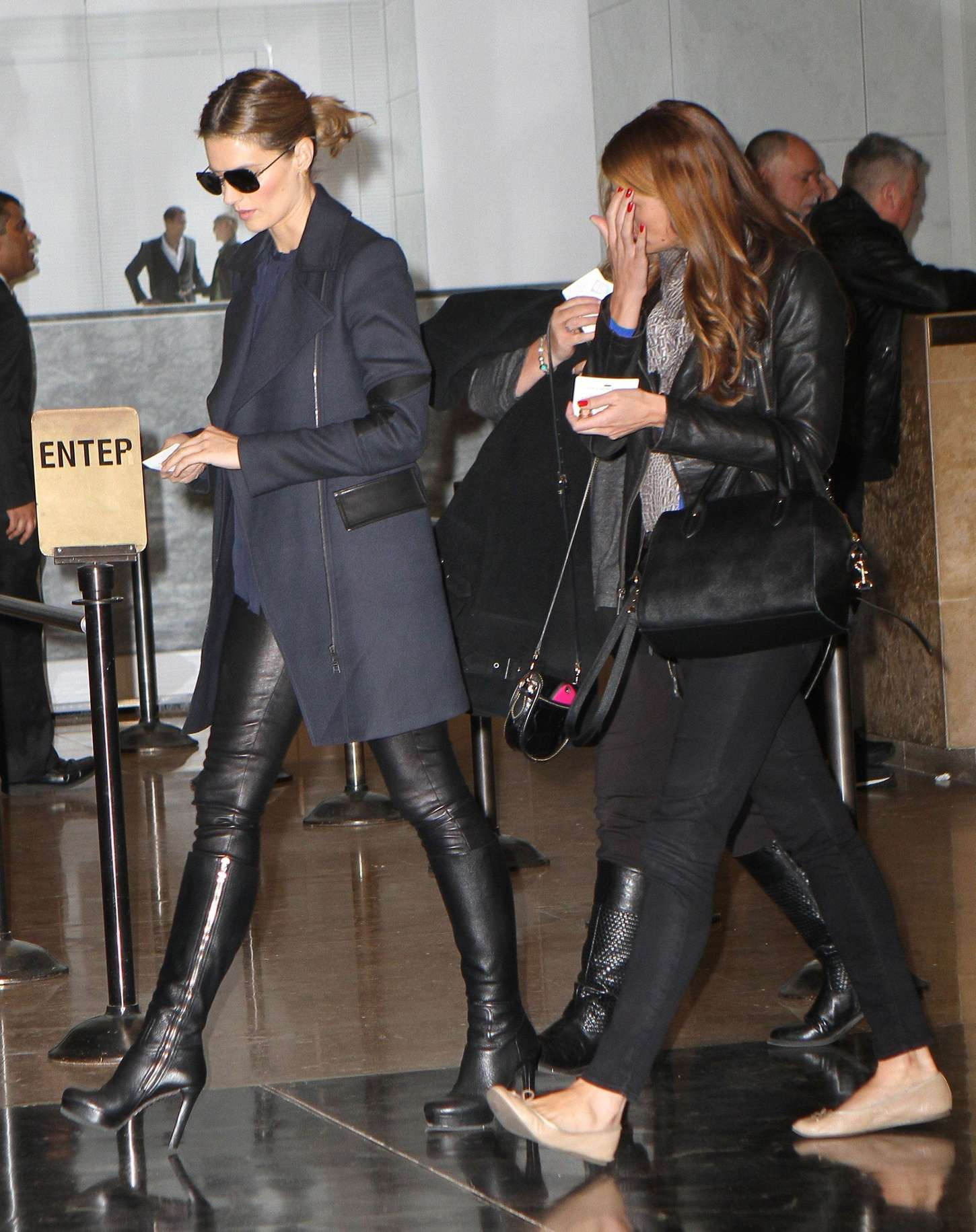 stana katic in leather pants 27 � gotceleb