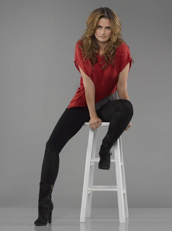Stana Katic - Castle mid Season 5 promos