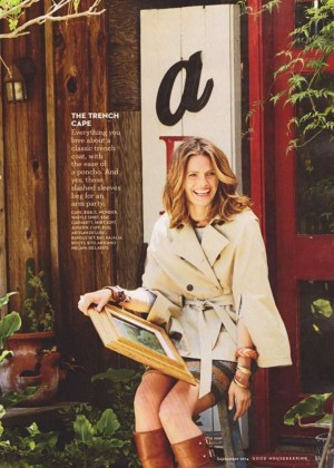 Stana Katic - Good Housekeeping Magazine (September 2014)