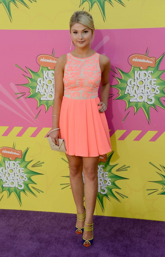 Stefanie Scott – 2013 Kids Choice Awards -02