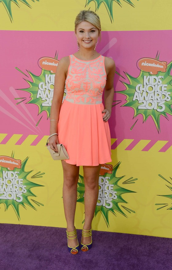 Stefanie Scott – 2013 Kids Choice Awards -03