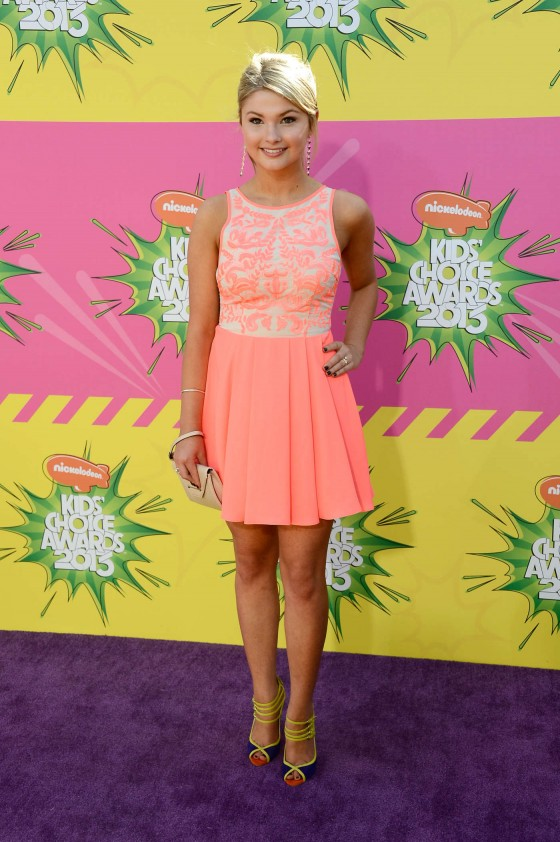 Stefanie Scott – 2013 Kids Choice Awards -05