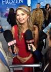 Stefanie Scott: Frozen Hollywood Premiere -02