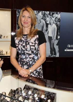 Steffi Graf: Hour Passion Boutique Grand Opening in Las Vegas-06