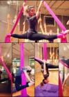 Stella Hudgens at a Silks Class -01