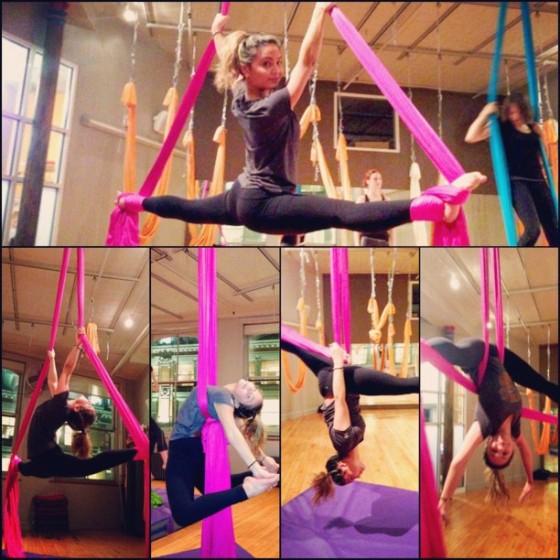 Stella Hudgens at a Silks Class – GotCeleb Stella Hudgens Ballet