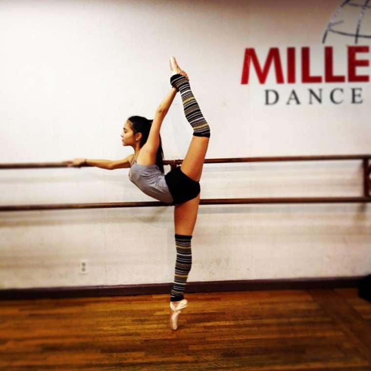 Stella Hudgens – Flexible Dance Practice In Millennium ... Stella Hudgens Ballet