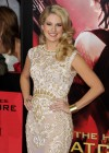 Stephanie Leigh Schlund - The Hunger Games: Catching Fire Hollywood Premiere -05