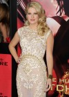 Stephanie Leigh Schlund - The Hunger Games: Catching Fire Hollywood Premiere -11
