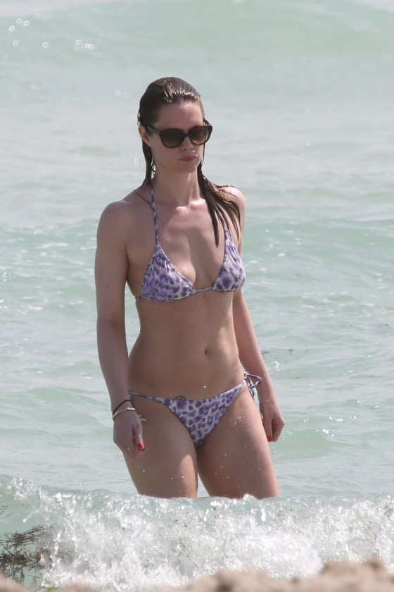 Stephanie March In Bikini in Miami -03
