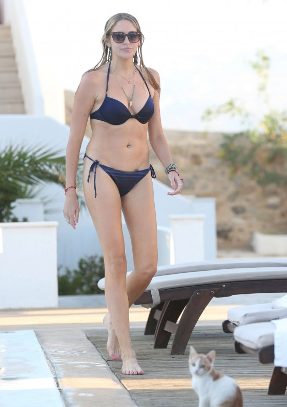 Stephanie Pratt Bikini Photos: in Mykonos 2013 -17