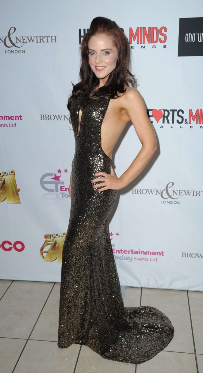 Stephanie Waring - Hearts & Minds Studio 54 Ball in Manchester