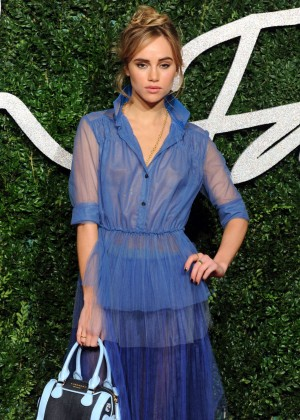 Suki Waterhouse - 2014 British Fashion Awards in London